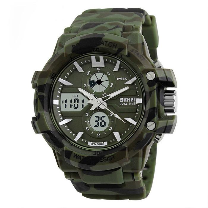 Часы спортивные Skmei 0990 Camouflage