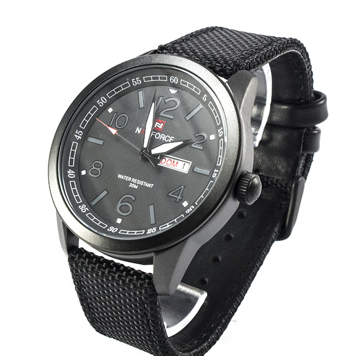 Часы Naviforce 9101BKG Black-Grey