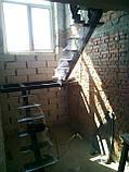 """""""П-образный"""" Каркас лестницы на центральном несущем косоуре, фото 4"""