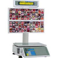 Весы с печатью этикетки Digi SM 300 BS (самообслуживание) бу