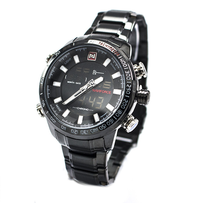 Часы Naviforce 9093BKW Black-White