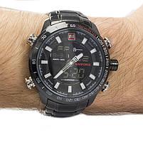 Часы Naviforce 9093BKW Black-White, фото 2