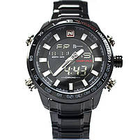 Часы Naviforce 9093BKW Black-White, фото 3