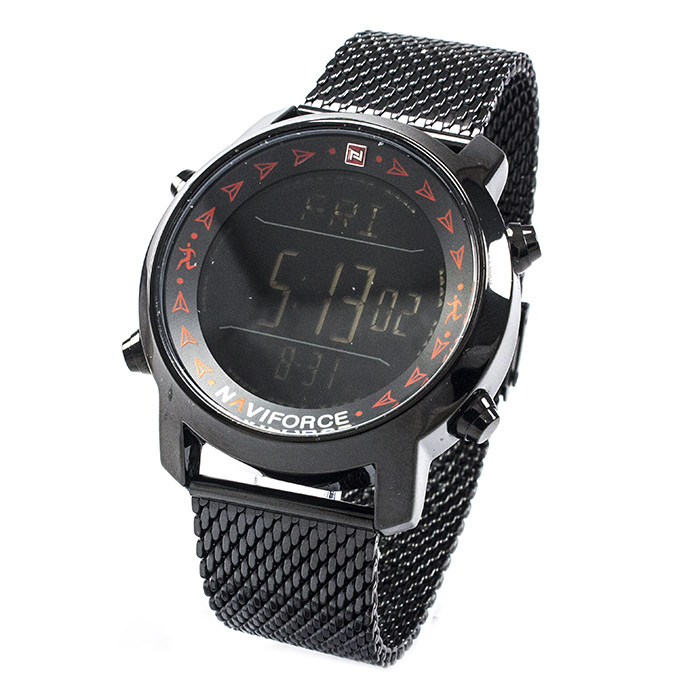 Часы Naviforce 9130BKR Black-Red