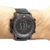 Часы Naviforce 9130BKR Black-Red, фото 2