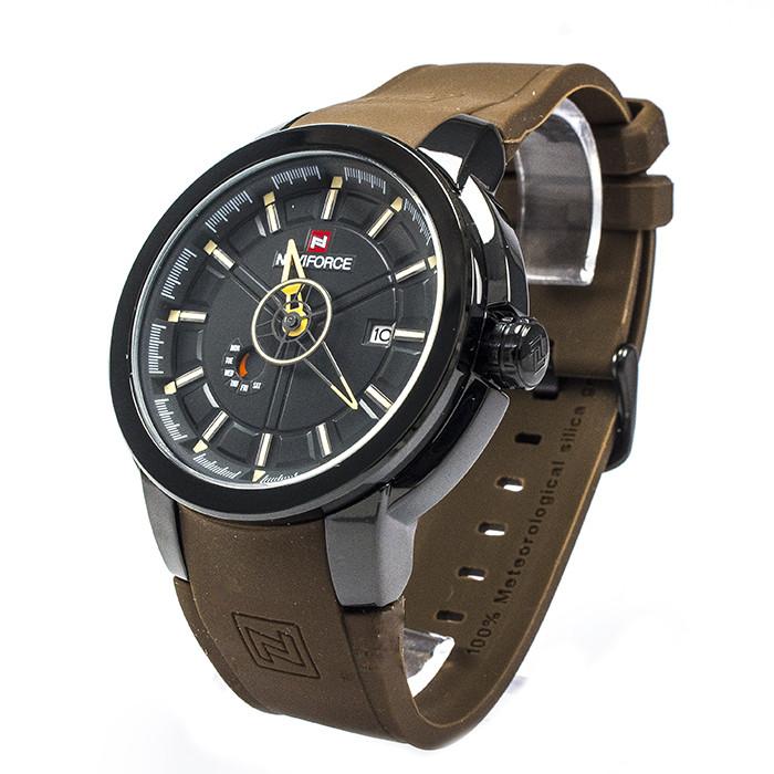 Часы Naviforce 9107GRY Brown-Yellow