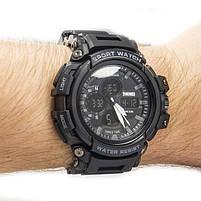 Часы спортивные Skmei 1343 Black, фото 2