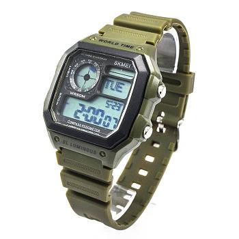 Часы спортивные Skmei 1373 Army Green