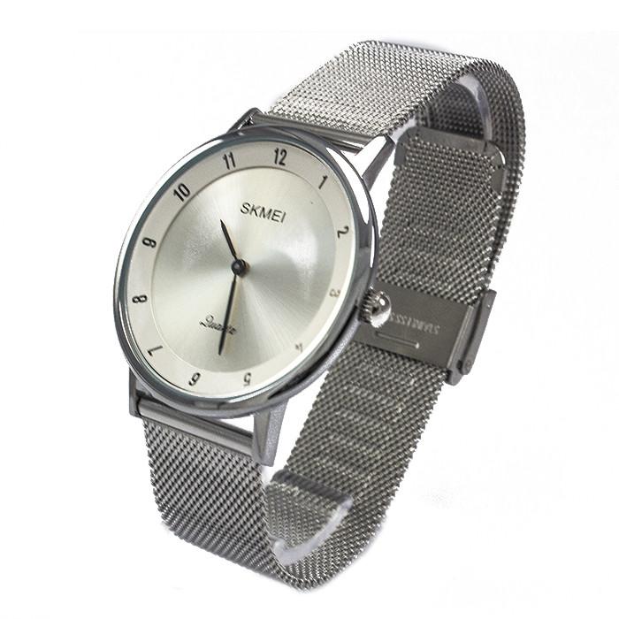 Часы ультратонкие Skmei 1264 Silver
