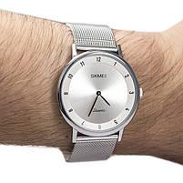 Часы ультратонкие Skmei 1264 Silver, фото 2