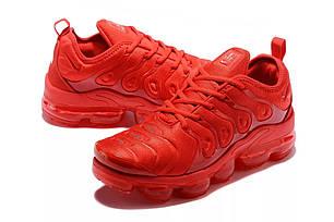 """Кроссовки Nike Vapormax Plus TN """"Red"""" (Красные), фото 2"""