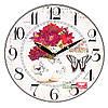 """Настенные часы """"Flowers"""" (29 см. МДФ)"""