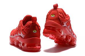 """Кроссовки Nike Vapormax Plus TN """"Red"""" (Красные), фото 3"""