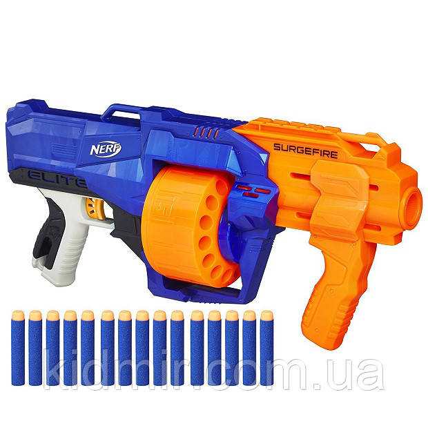 Бластер Нерф Серджфайер Nerf N-Strike SurgeFire Hasbro E0011
