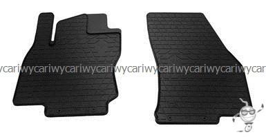 Коврики резиновые в салон Audi Q2 16-/Seat Ateca 16-/VW Tiguan 16-/Skoda Kodiaq 16- 2шт.Stingray