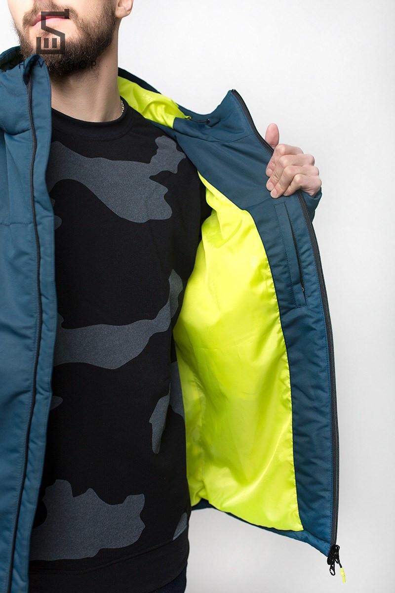 1ef55a0cee8 Зимняя мужская куртка UP A4 синяя - купить по лучшей цене в Харькове ...