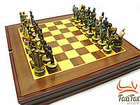 Шахматы ( натуральное дерево ) 49 см
