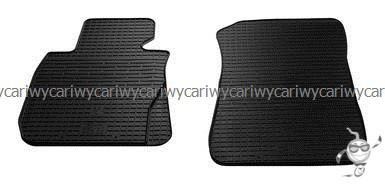 Коврики резиновые в салон BMW 1 (E81/E82/E87) 04-/BMW 3 (E90/E91/E92) 05-/ BMW X1 (E84) 09- 2шт.Stingray