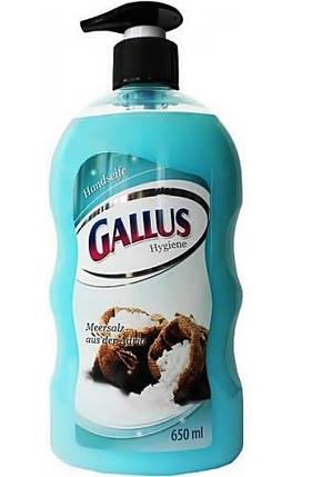 Gallus Handseife Жидкое мыло с дозатором Морская соль 650ml, фото 2