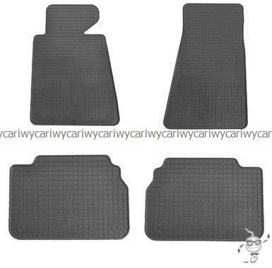 Коврики резиновые в салон BMW 5 (E34) 87-  4шт.Stingray