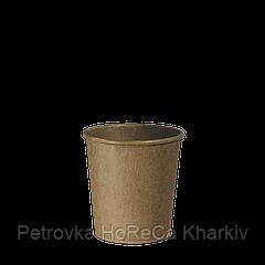 "Одноразовые стаканы, серия Крафт ""Ф"", 110 мл. 50шт.упак (50/2500)"