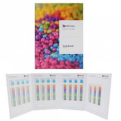 1002 Seed Beads -Solgel Colours Preciosa.Карта дополнительных цветов бисера Preciosa