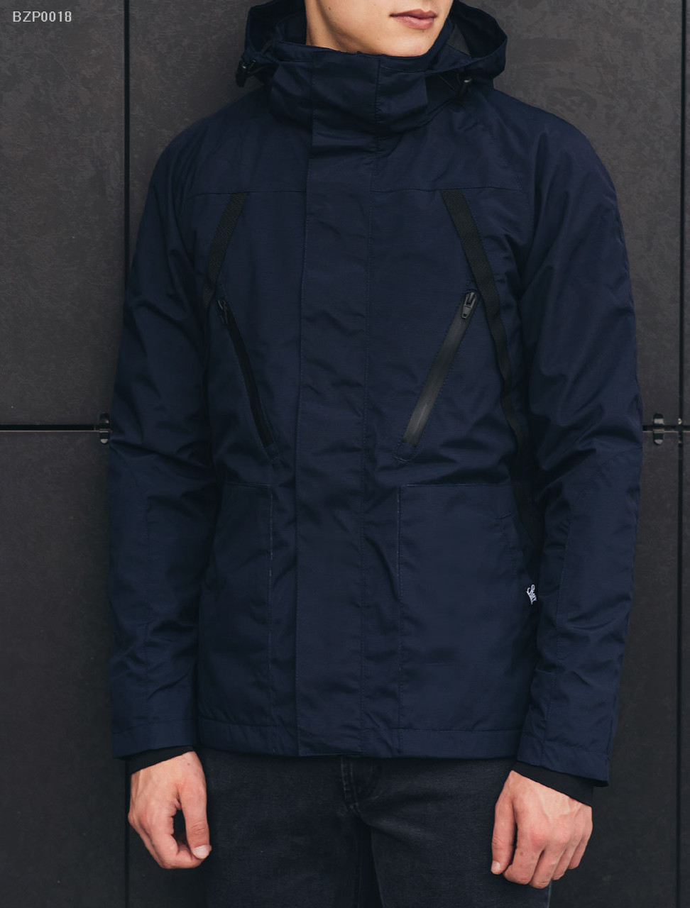 Весенне-осенняя куртка Staff - Shott navy Art. BZP0018 (Размеры - XL ... ca01fee636029