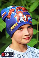 Трикотажные шапки Спайдермен