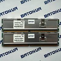 Игровая оперативная память PNY DDR2 1Gb+1Gb 667MHz PC2 5300U CL5 (64A0TFTHE-HS)