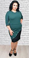 Нарядное платье большого размера 1586 р.52-58 , фото 1