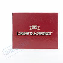 Мужской кожаный кошелек Lison Kaoberg 46542 C, фото 3