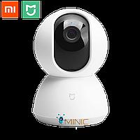 Поворотная камера видеонаблюдения Xiaomi MiJia 360° Home Camera PTZ Wi-Fi IP 1080P, фото 1