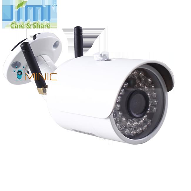 Уличная камера видеонаблюдения JIMI JH012 3G Wi-Fi IP 720P