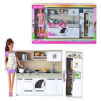 Современная кухня и Кукла DEFA LUCY 6085, 2 вида