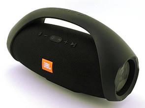 Блютуз колонка JBL Boombox BIG 40W влагозащищенная + наушники в подарок Черный