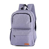 Повседневный серый рюкзак, фото 1