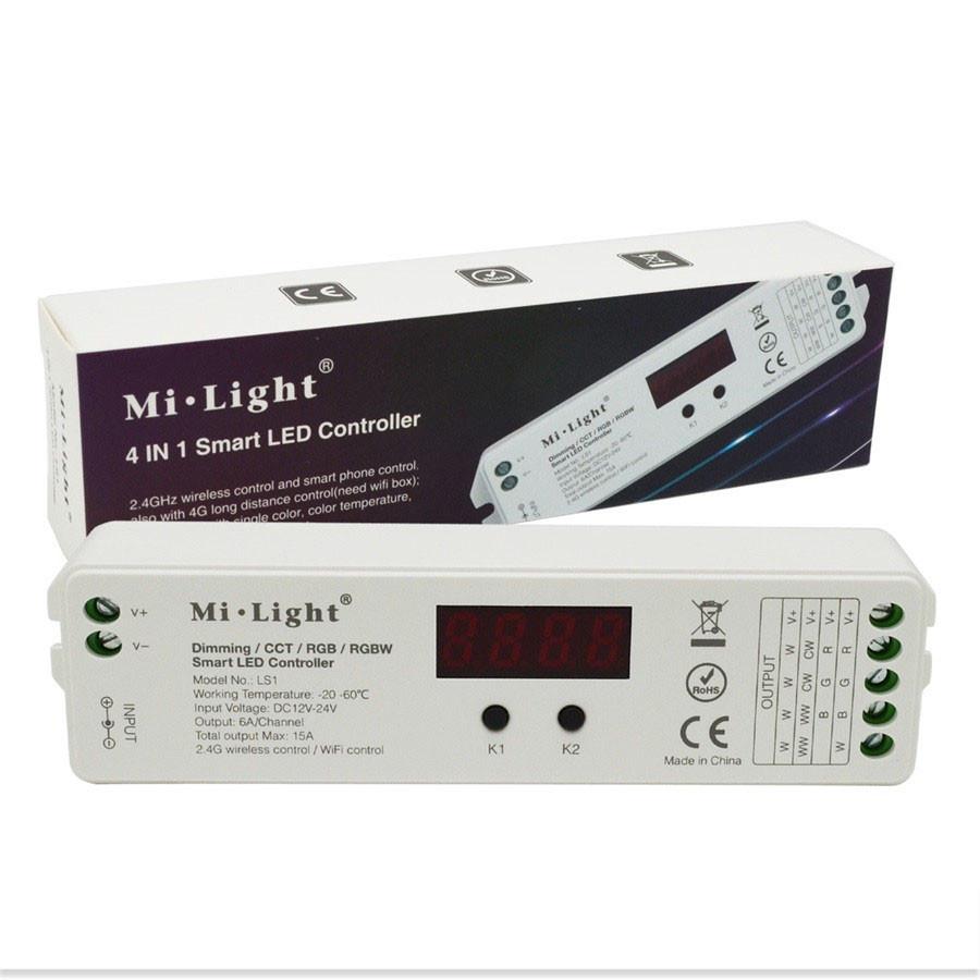 Багатозонний контролер Mi-Light RGBW преміум 4 в 1 Smart LED