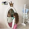 Дзеркало в дитячу біле Princess D1, фото 2