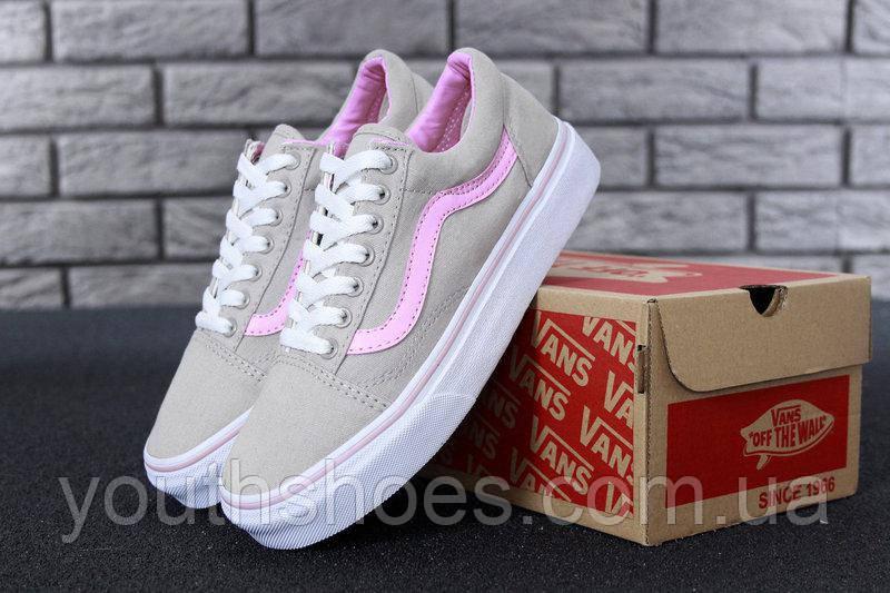 d66c1ea2 Кеды женские Vans Old Skool Pink