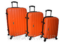 Чемодан Siker Line (средний) оранжевый, фото 3