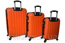 Чемодан Siker Line (средний) оранжевый, фото 2