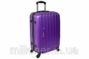 Чемодан Siker Line (средний) фиолетовый