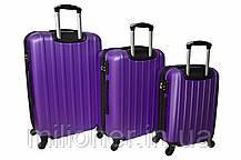 Чемодан Siker Line (средний) фиолетовый, фото 2