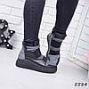 Ботинки женские Lecuni серые 5584, деми