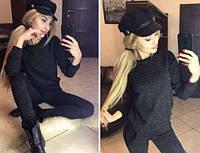 Спортивный костюм женский с карманами из ангоры софт модный и стильный 42 44 46 48 50 Р