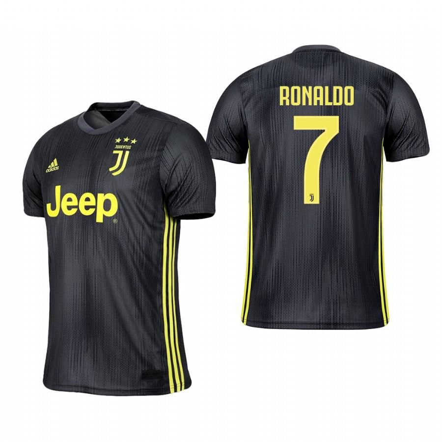 f4f50e3a8e37 Футбольная форма Ювентус Роналдо Детская (FC Juventus Ronaldo) 2018-2019  Выездная