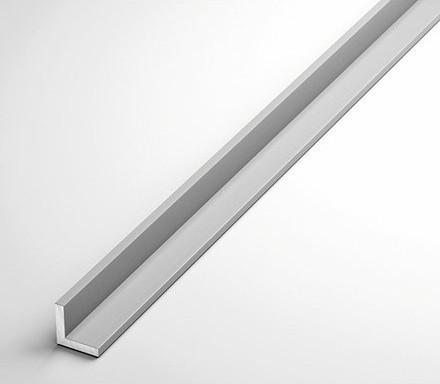 Уголок алюминиевый 25х15х1.5 мм анодированный