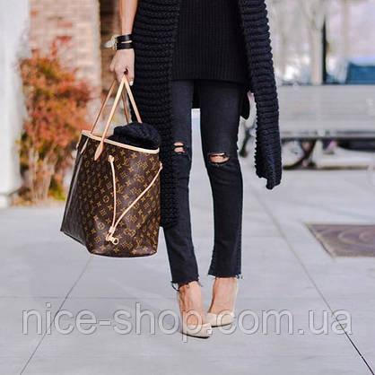 Сумка Louis Vuitton Neverfull Large, монограмм классика, фото 2