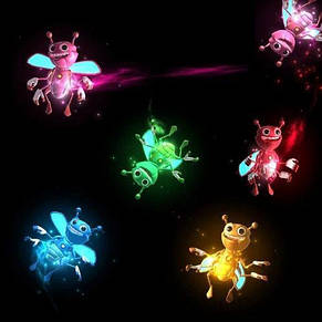 Волшебный летающий светлячок Bright Bugz Magically flies, фото 2