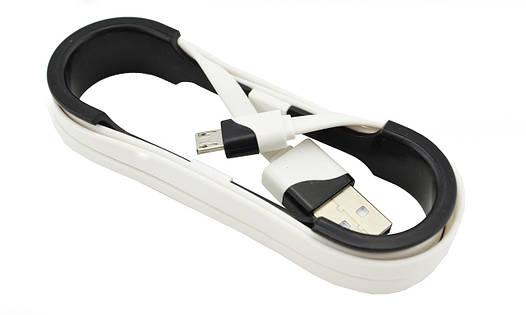 Кабель V8 USB - micro USB  (зарядка и передача данных) на бобине